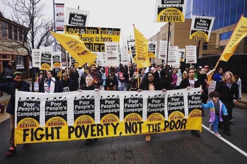 Picking up the Mantle - A New Poor People's Campaign: A National Call for Moral Revival